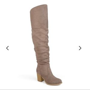 Journee Collection Kaison Over-The-Knee Boots; 9